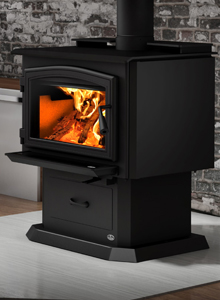 Click for more information on the Osburn 2000 wood stove