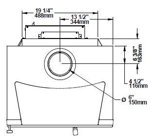 Osburn Matrix OB02032 wood stove top dimensions