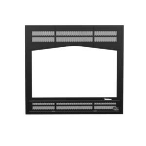 Osburn Prairie style faceplate for wood fireplace