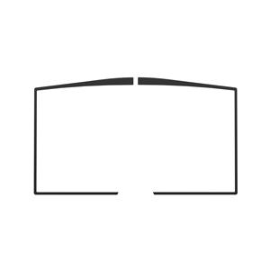 Osburn black door overlay