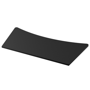 Osburn black panel top