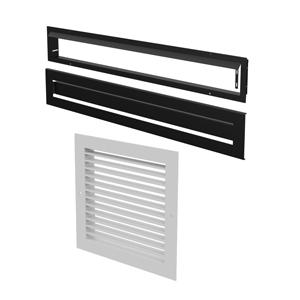 Osburn warm air circulation grille