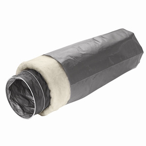 Osburn 4'' outer diameter x 10' insulated flex pipe for fresh air intake kit