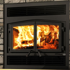 Click for more information on Osburn Stratford II wood fireplace