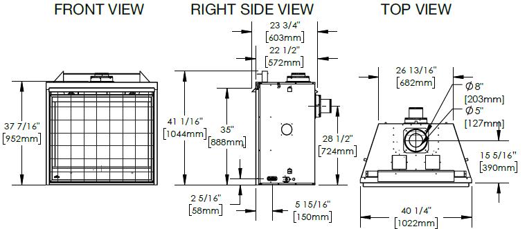 Napoleon Ascent Deep 42 dimensions diagrams