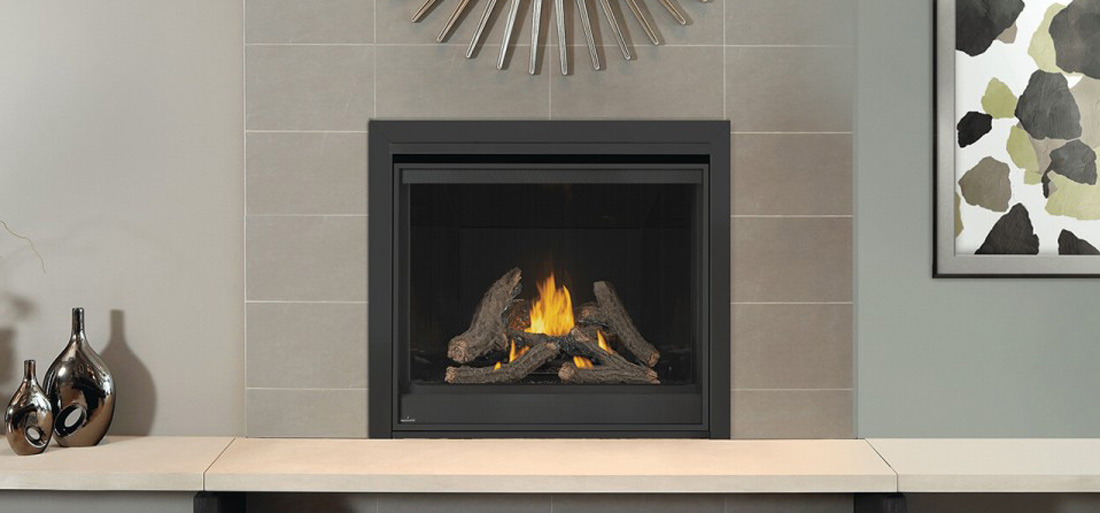 Image of Napoleon Ascent D42 Gas Fireplace in living room setting D42
