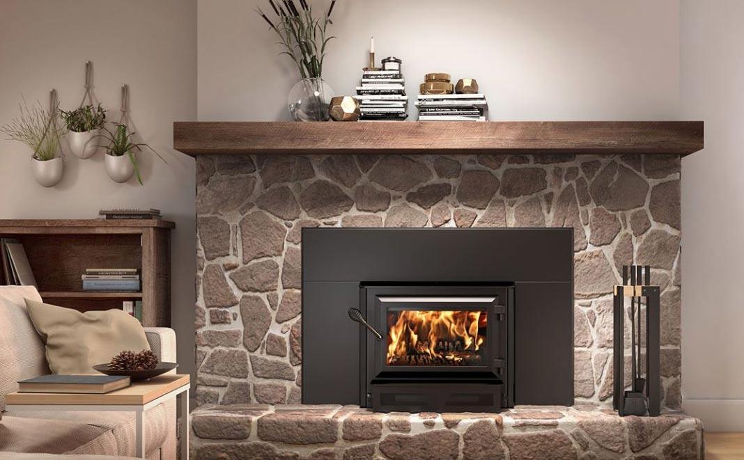 Ventis HEI170 wood fireplace insert model VB00014