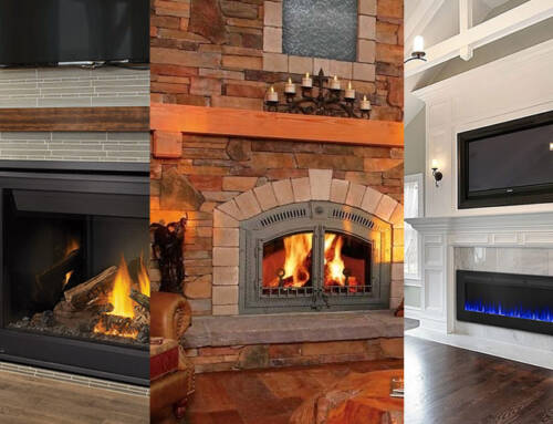 Choosing A Fireplace – Gas vs Wood vs Electric
