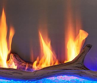 Outdoor Lifestyles Lanai driftwood log set